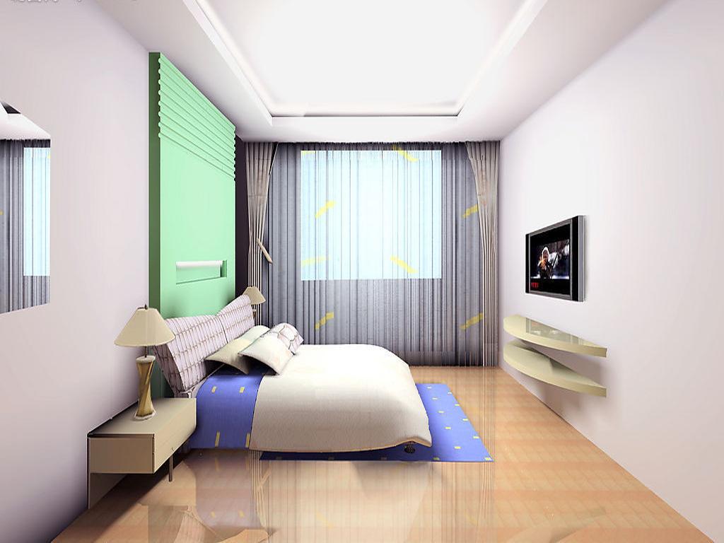 卧室效果图,家装效果图,装修效