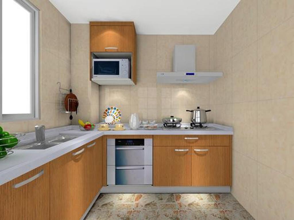 公寓式厨房效果 厨房效果图,家装效果图,装修效果图,室内设计效