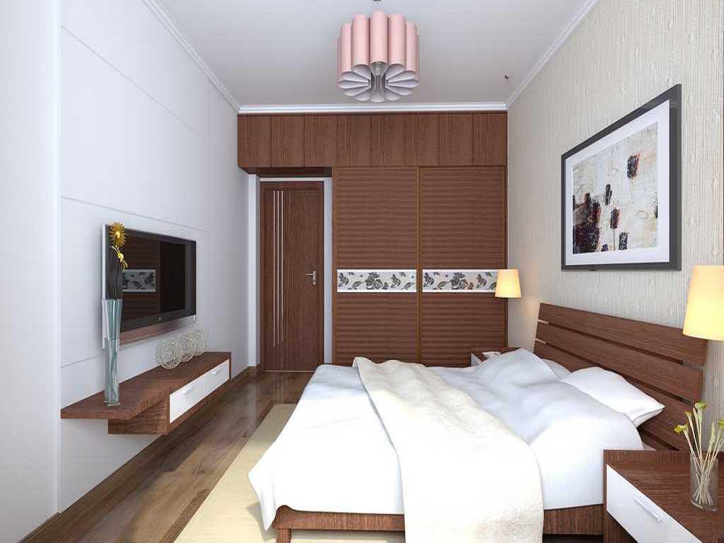 天鹅湖1号 卧室,家装效果图