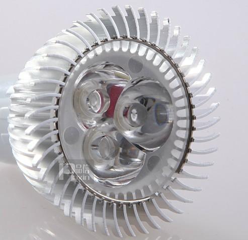 MR16 3W车铝灯杯灯/LED射灯光源灯泡