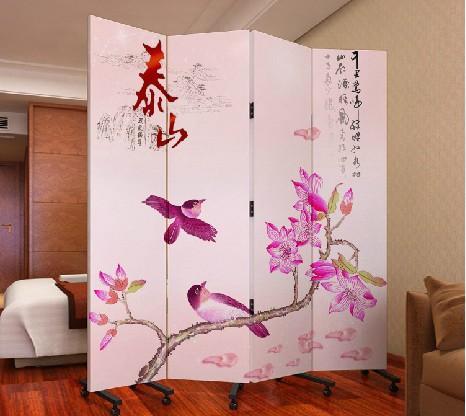 玄关门实木布艺酒店办公 泰山 pf4-17